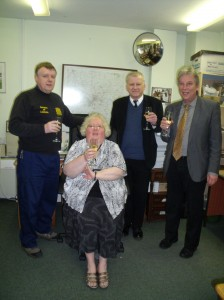 Mary's retirement at Barnes of Lincoln