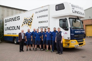 movers and storers at Barnes of Lincoln
