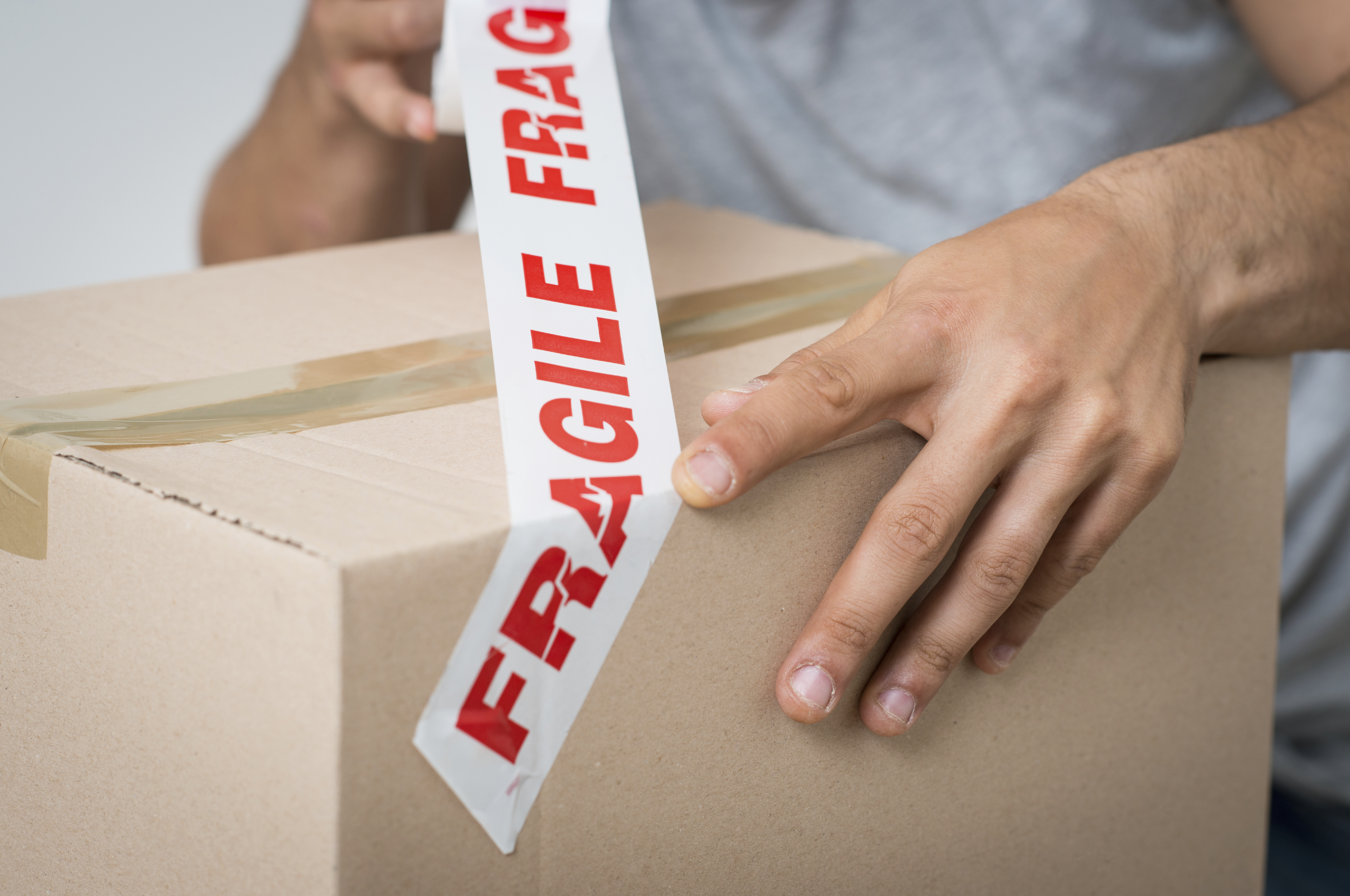 fragile boxes