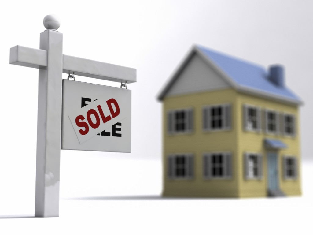 Mortgage sold house